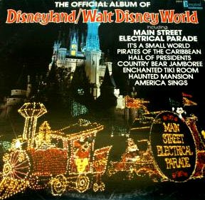 The Official Album Of Disneyland Amp Walt Disney World 1980