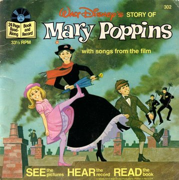 Walt Disney's Story of Mary Poppins - See-Hear-Read Soundtrack & Book EP/CD