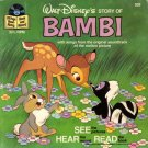 Walt Disney's Story of Bambi - See-Hear-Read Soundtrack & Book EP/CD