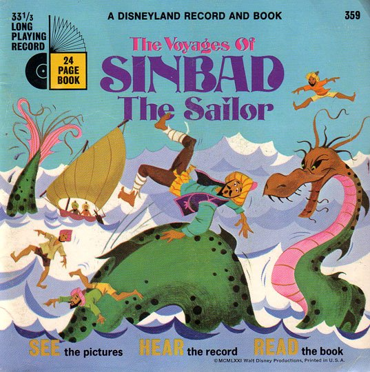 The Voyages Of Sinbad The Sailor - See-Hear-Read Soundtrack & Book EP/CD