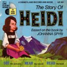 The Story of Heidi - See-Hear-Read Soundtrack & Book EP/CD