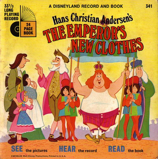 The Emperor's New Clothes - See-Hear-Read Soundtrack & Book EP/CD
