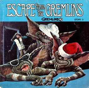 Gremlins Story 3, Escape From The Gremlins - See-Hear-Read Soundtrack & Book EP/CD