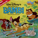 Walt Disney's Bambi - Storyteller Soundtrack, Frank Churchill LP/CD