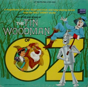The Tin Woodman Of Oz - Walt Disney Story & Songs Soundtrack, Camarata LP/CD