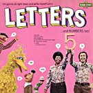 Letters And Numbers, Too! - Sesame Street Soundtrack LP/CD