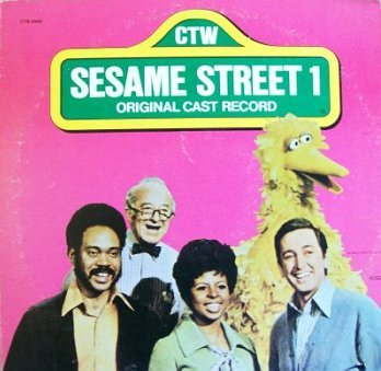 Sesame Street 1 - Original Cast Album (1974) Soundtrack LP/CD