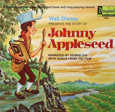 Walt Disney S Johnny Appleseed Melody Time Soundtrack