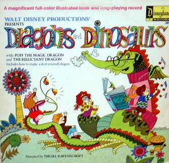 Dragons And Dinosaurs - Walt Disney Story Soundtrack, Thurl Ravenscroft LP/CD