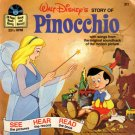 Walt Disney's story of Pinocchio - See-Hear-Read Soundtrack & Book EP/CD
