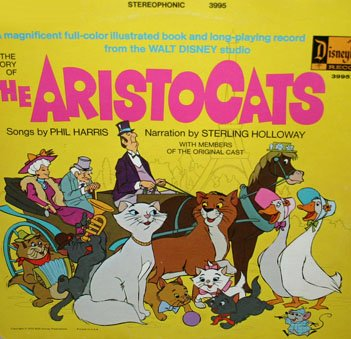 The Aristocats - Walt Disney Story & Songs Soundtrack LP/CD