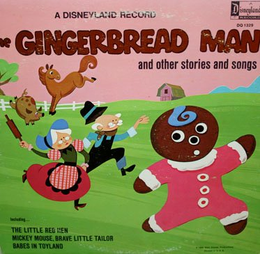 The Gingerbread Man & Other Stories and Songs - Disneyland Collection LP/CD