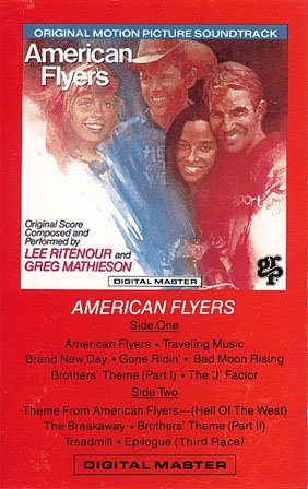 American Flyers - Original Soundtrack, Lee Ritenour & Greg Mathieson OST Tape/CD