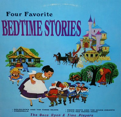 Four Favorite Bedtime Stories - The Once Upon A Time Players LP/CD