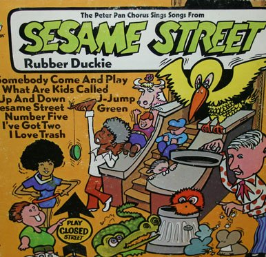 Songs from Sesame Street - Peter Pan Soundtrack LP/CD