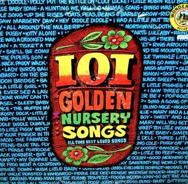 101 Golden Nursery Songs - All Time Best Loved Children's Songs LP/CD