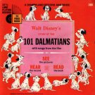 Walt Disney's story of 101 Dalmatians - See-Hear-Read Soundtrack & Book EP/CD