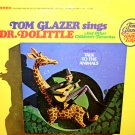Tom Glazer Sings Dr. Dolittle and Other Children's Favorites - Music Collection LP/CD