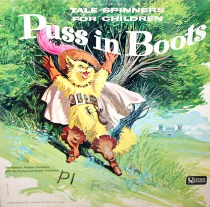Puss In Boots - Tale Spinners For Children Series LP/CD