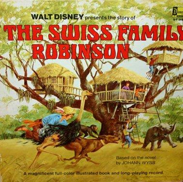 The Story Of The Swiss Family Robinson - Walt Disney Soundtrack LP/CD