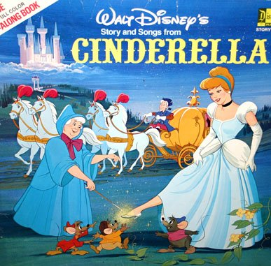 Walt Disney's Cinderella - Story & Songs Soundtrack LP/CD