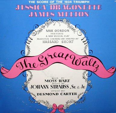 The Great Waltz (1934 Musical) - Original Score, Johann Strauss OST LP/CD