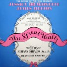 The Great Waltz (1934 Musical) - Original Score, Johann Strauss OST LP/CD