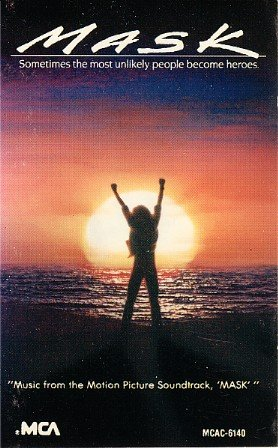 Mask (1985) - Original Soundtrack, Little Richard OST Tape/CD