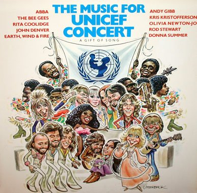 The Music For UNICEF Concert: A Gift Of Song (1979) - Various Artists LP/CD