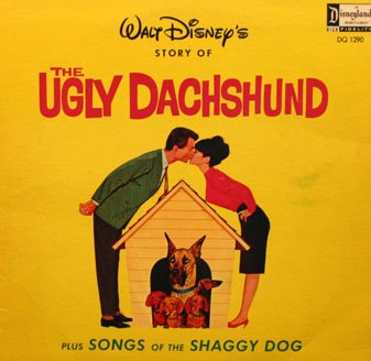 Walt Disney's The Ugly Dachshund - Disney Story Soundtrack LP/CD