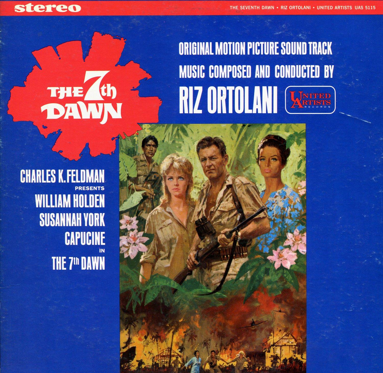 The 7th Dawn - Original Soundtrack, Riz Ortolani OST LP/CD Seventh