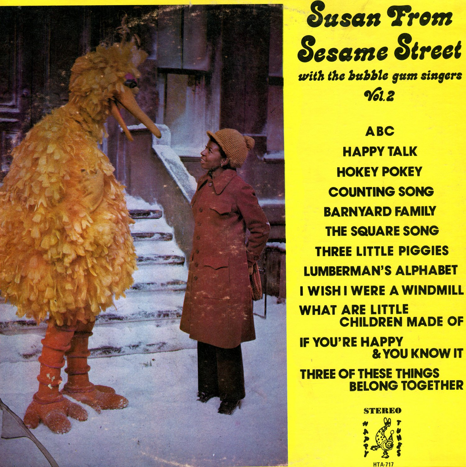Susan From Sesame Street Vol. 2 - Children's Music Collection, Loretta Long/Bubble Gum Singers LP/CD