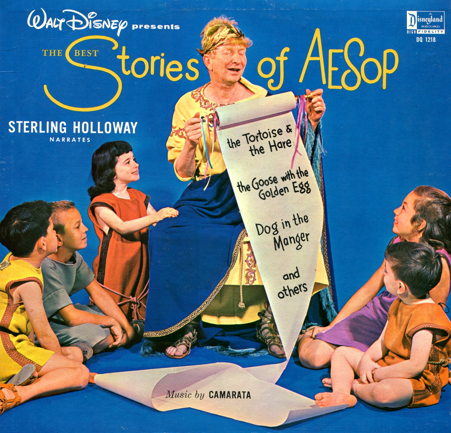 The Best Stories Of Aesop - Disneyland Story Soundtrack LP/CD