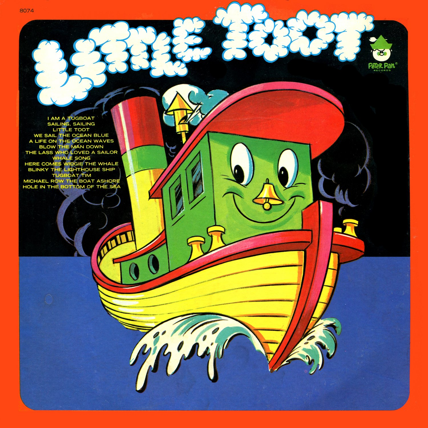 Little Toot - Children's Song Collection (Peter Pan Records) LP/CD
