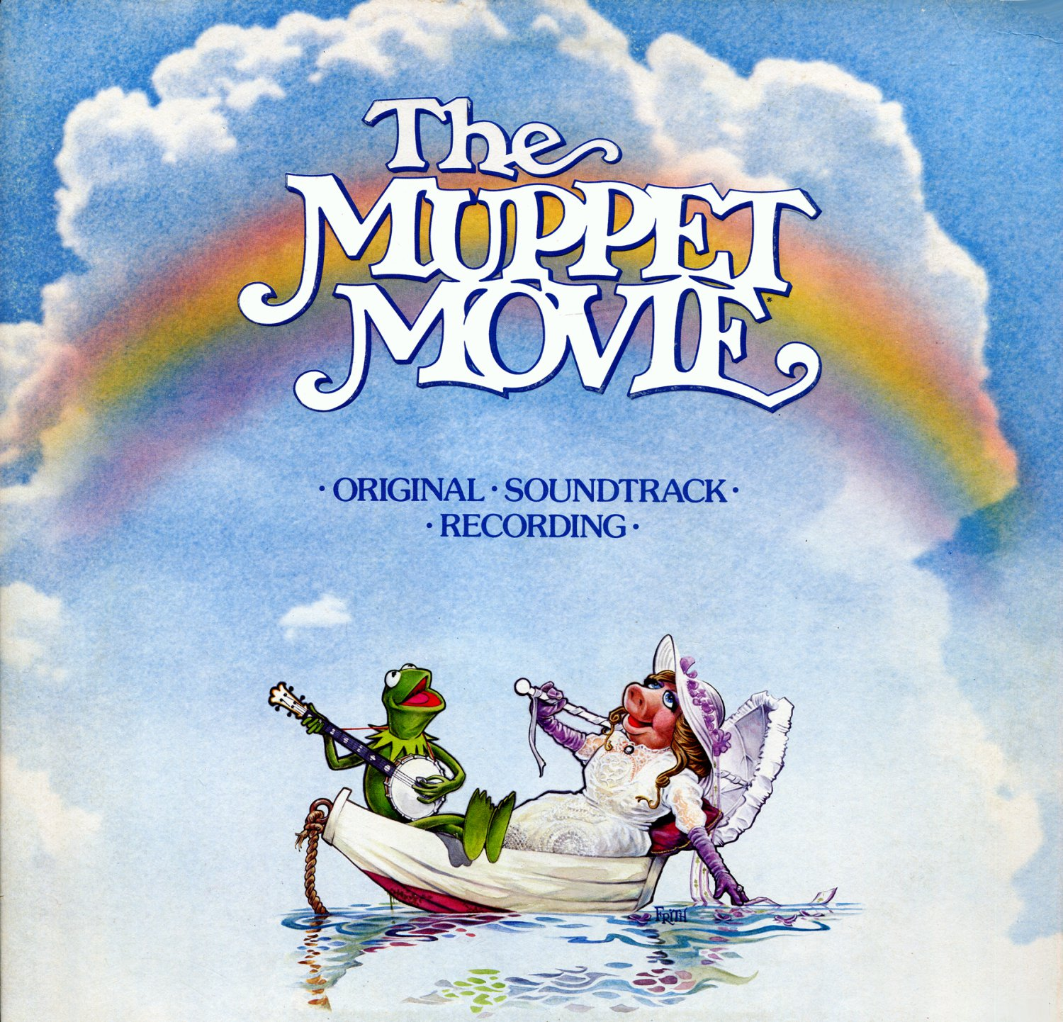 The Muppet Movie - Original Soundtrack, Paul Williams & Kenny Ascher OST LP/CD