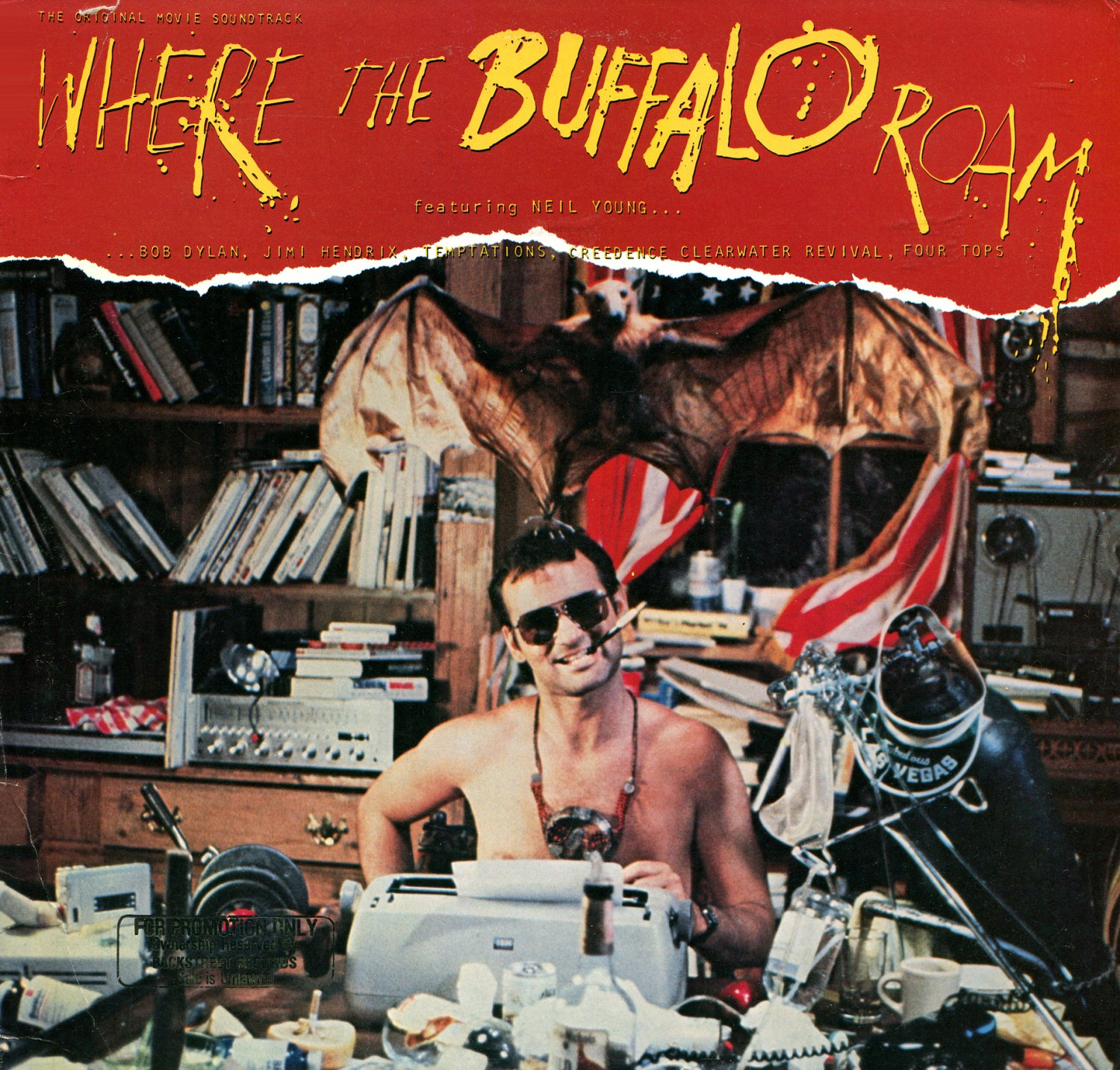 Where The Buffalo Roam - Original Soundtrack, Neil Young OST LP/CD