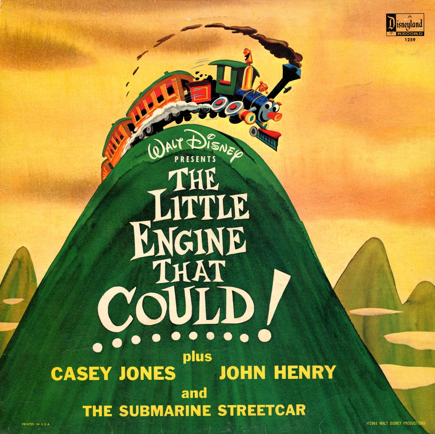The Little Engine That Could - Walt Disney Story & Song Collection LP/CD