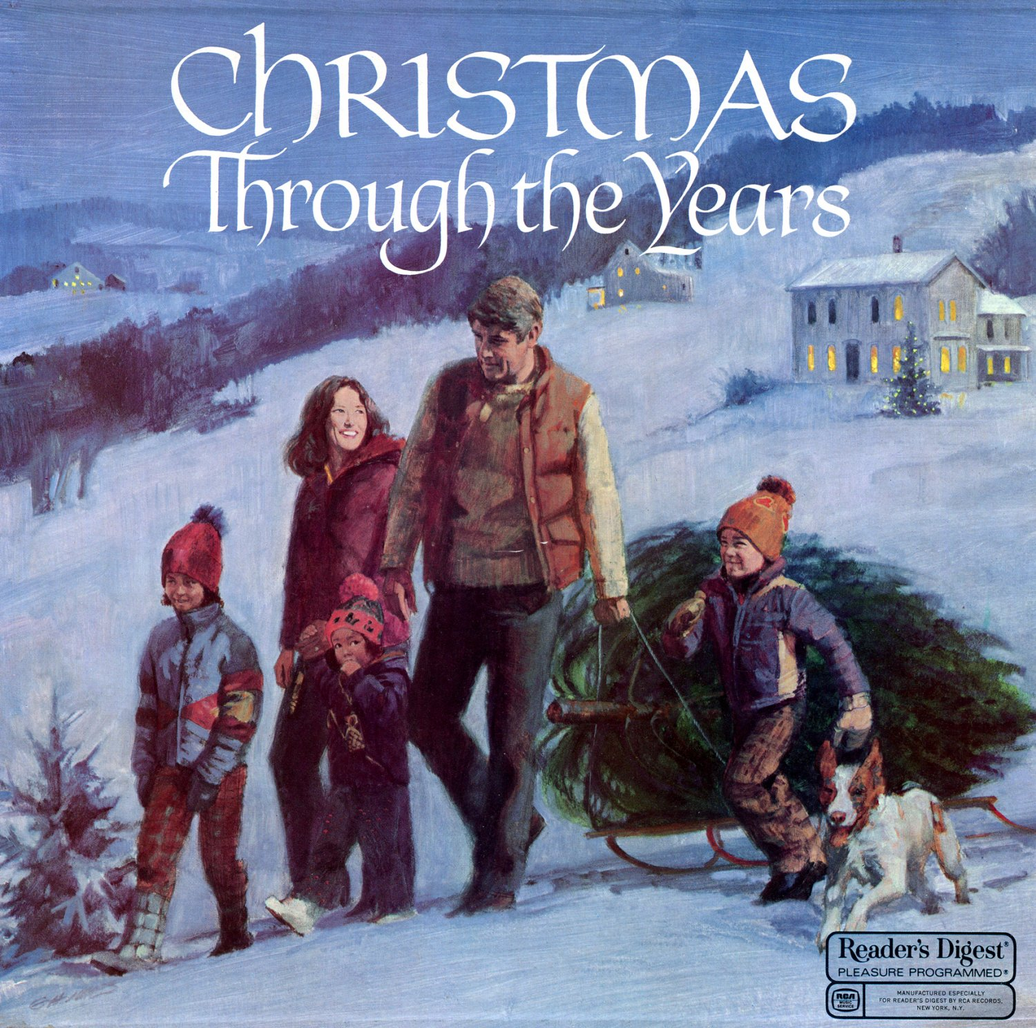 Christmas Through The Years - Reader's Digest Holiday Music Box Set LP/CD