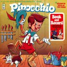 Pinocchio - Original Musical Soundtrack, Peter Pan Book & Record LP/CD