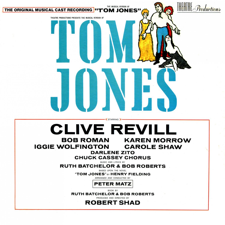 Tom Jones The Musical - Original Cast Recording Soundtrack, Clive Revill LP/CD