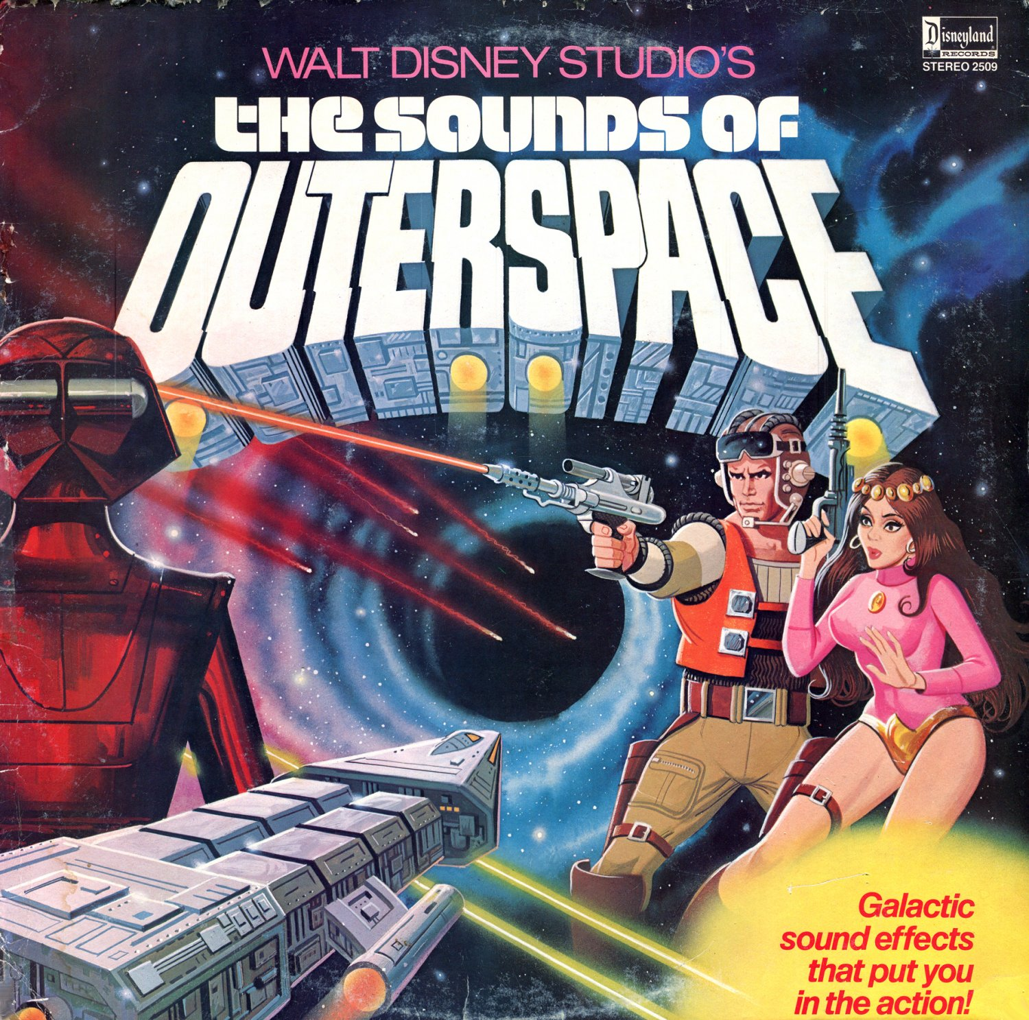 The sounds of outerspace walt disney studios soundtrack for Outer space studios