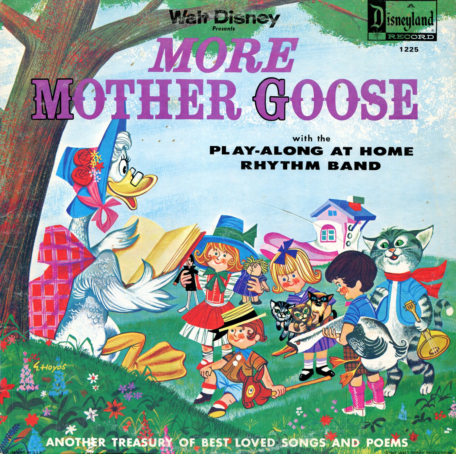 Walt Disney's More Mother Goose - Nursery Rhyme & Music Collection LP/CD