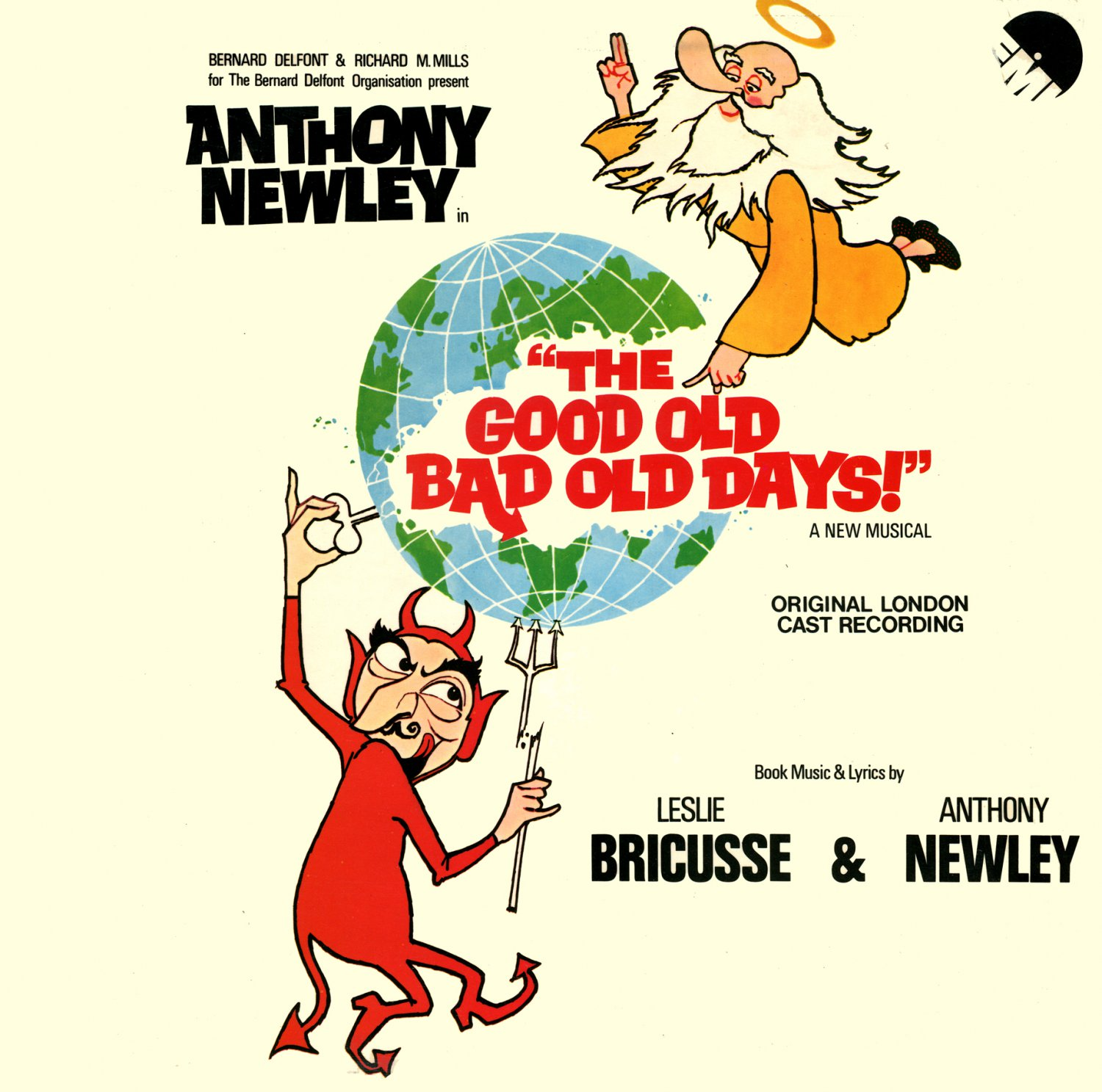 The Good Old Bad Old Days, A New Musical - Original London Cast Album, Anthony Newley LP/CD