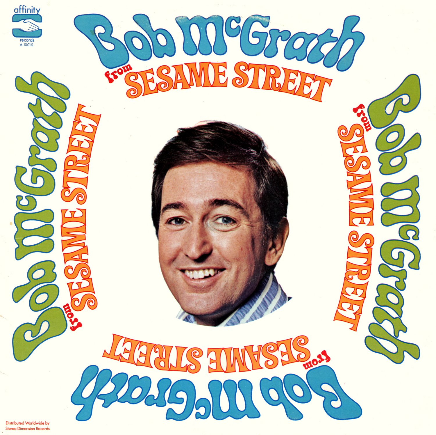 Bob McGrath From Sesame Street - Kids Music Collection LP/CD