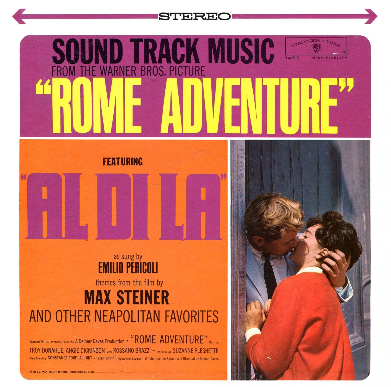 Rome Adventure - Original Soundtrack, Max Steiner OST LP/CD