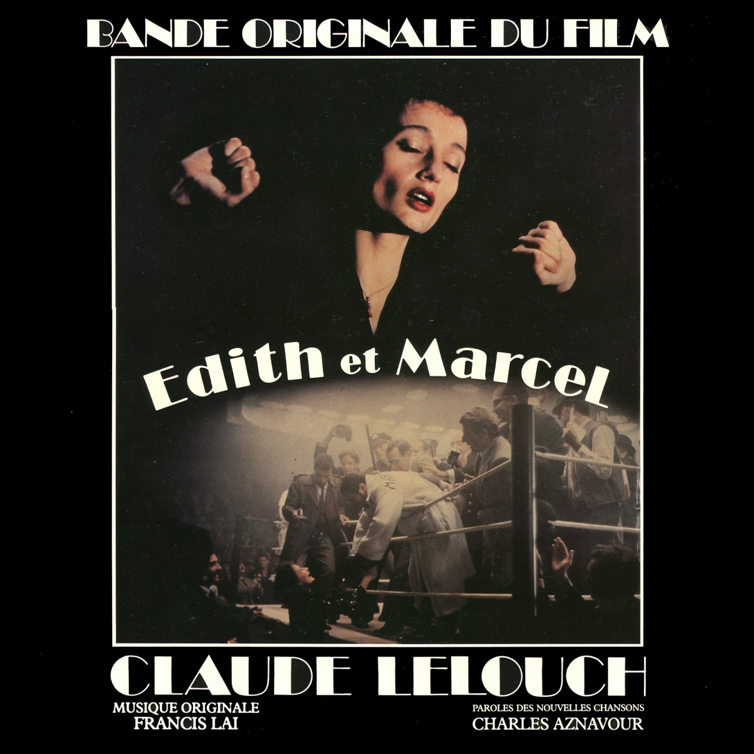 Edith And Marcel - Original Soundtrack, Francis Lai OST LP/CD et
