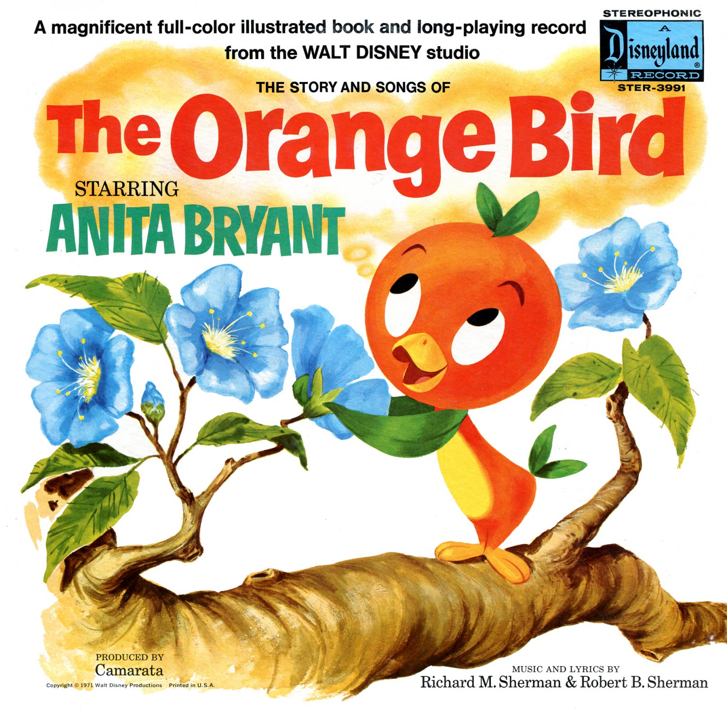 The Story & Songs of The Orange Bird - Walt Disney Original Soundtrack, Anita Bryant OST LP/CD