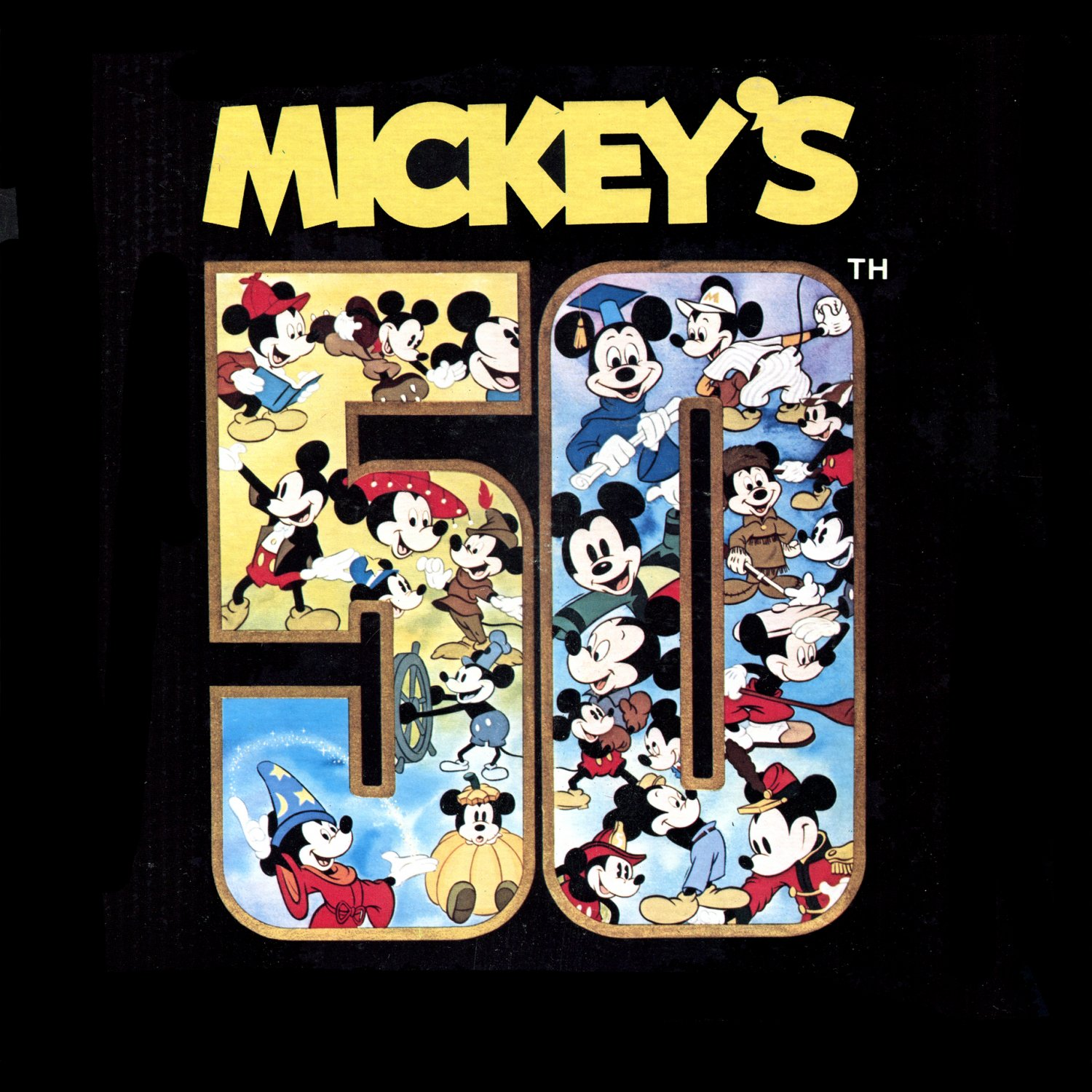 Mickey's 50th - Walt Disney Soundtrack, Mickey Mouse Birthday Collection LP/CD