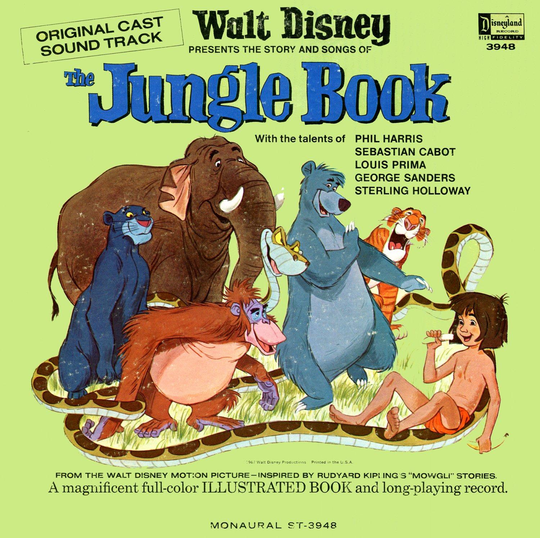 The Jungle Book - Walt Disney Story Soundtrack, Sherman Brothers LP/CD