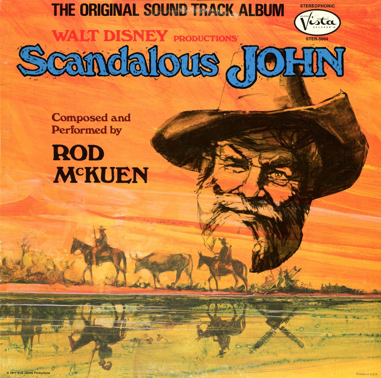 Scandalous John - Original Walt Disney Soundtrack, Rod McKuen OST LP/CD